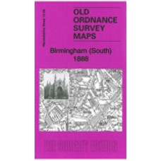 Birmingham (South) 1888 - Old Ordnance Survey Maps - The Godfrey Edition