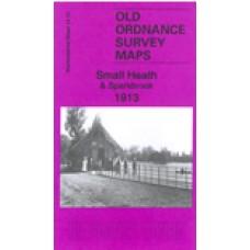 Small Heath and Sparkbrook 1913 - Old Ordnance Survey Maps - The Godfrey Edition