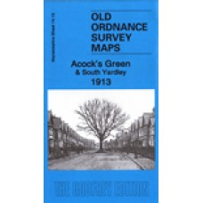 Acocks Green and South Yardley 1913 - Old Ordnance Survey Maps - The Godfrey Edition
