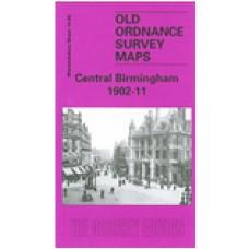 Birmingham Central 1902-11 - Old Ordnance Survey Maps - The Godfrey Edition