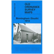 Birmingham (South) 1913 - Old Ordnance Survey Maps - The Godfrey Edition