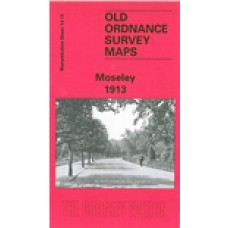Moseley 1913 - Old Ordnance Survey Maps - The Godfrey Edition