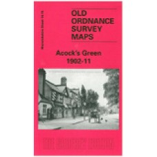 Acocks Green 1902-11 - Old Ordnance Survey Maps - The Godfrey Edition