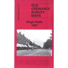 Kings Heath 1937 - Old Ordnance Survey Maps - The Godfrey Edition