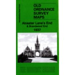 Alcester Lane's End and Brandwood End 1937 - Old Ordnance Survey Maps - The Godfrey Edition