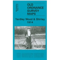 Yardley Wood and Shirley 1914 - Old Ordnance Survey Maps - The Godfrey Edition
