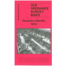 Coventry (North) 1912 - Old Ordnance Survey Maps - The Godfrey Edition