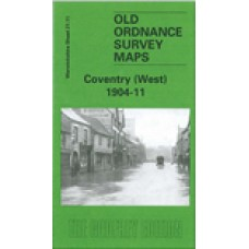Coventry (West) 1904-11 - Old Ordnance Survey Maps - The Godfrey Edition