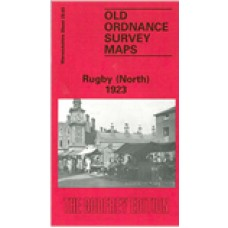 Rugby (North) 1923 - Old Ordnance Survey Maps - The Godfrey Edition