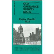 Rugby (South) 1923 - Old Ordnance Survey Maps - The Godfrey Edition