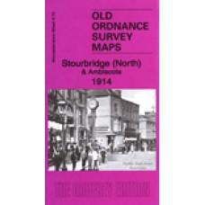 Stourbridge (North) and Amblecote 1914 - Old Ordnance Survey Maps - The Godfrey Edition