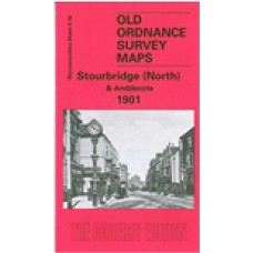 Stourbridge (North) and Amblecote 1901 - Old Ordnance Survey Maps - The Godfrey Edition