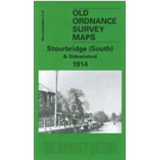 Stourbridge (South) and Oldswinford 1914 - Old Ordnance Survey Maps - The Godfrey Edition