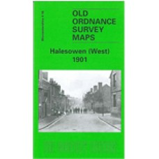 Halesowen (West) 1901 - Old Ordnance Survey Maps - The Godfrey Edition