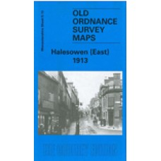 Halesowen (East) 1913  - Old Ordnance Survey Maps - The Godfrey Edition