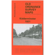 Kidderminster 1921 - Old Ordnance Survey Maps - The Godfrey Edition