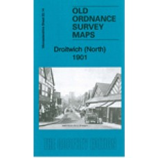 Droitwich (North) 1901 - Old Ordnance Survey Maps - The Godfrey Edition