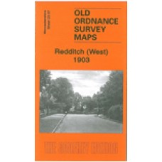 Redditch (West) 1903 - Old Ordnance Survey Maps - The Godfrey Edition