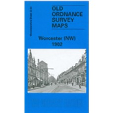 Worcester (NW) 1902 - Old Ordnance Survey Maps - The Godfrey Edition