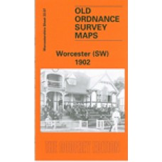 Worcester (SW) 1902 - Old Ordnance Survey Maps - The Godfrey Edition