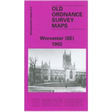 Worcester (SE) 1902 - Old Ordnance Survey Maps - The Godfrey Edition