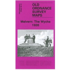 Malvern: The Wyche 1926 - Old Ordnance Survey Maps - The Godfrey Edition