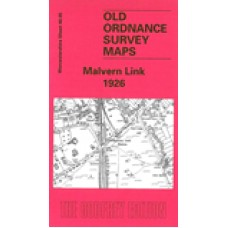 Malvern Link 1926 - Old Ordnance Survey Maps - The Godfrey Edition