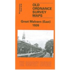 Great Malvern (East) 1926 - Old Ordnance Survey Maps - The Godfrey Edition