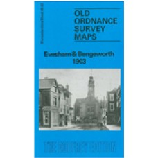 Evesham and Bengeworth 1903 - Old Ordnance Survey Maps - The Godfrey Edition