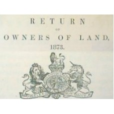 Return of Owners Land, Staffordshire, Warwickshire and Worcestershire (1873) - Compendium set