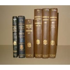 Wrightson's Triennial Directories of Birmingham (1815-1839) - Collection of six