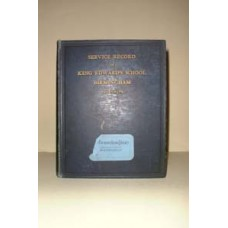 Service Record of King Edwards School (1914 - 1919) - CD