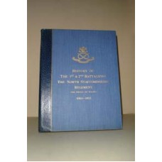 History of the 1st & 2nd North Staffordshire Regiment, 1923 - CD