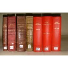 Kennings Rugby Almanacks (1866, 1870 - 1901, 1906) - CD