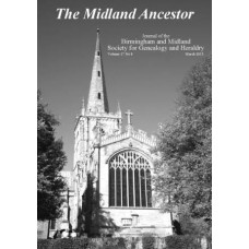 The Midland Ancestor - Back Issues - 2016 (Download)