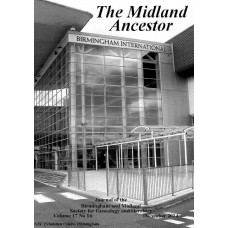 The Midland Ancestor Volume 19 No.02 June 2019 - Download