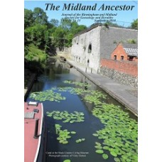 The Midland Ancestor Volume 18 No.15 September 2018 - Download