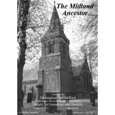 The Midland Ancestor - Back Issues - 2010 (Download)