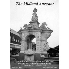 BMSGH - The Midland Ancestor Volume 17 No.15 September 2014