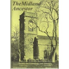 The Midland Ancestor - Back Issues - 2003 (Download)