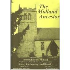 BMSGH - The Midland Ancestor Volume 16 No.02 June 2008