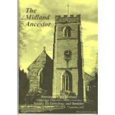 BMSGH - The Midland Ancestor Volume 16 No.03 Sept. 2008