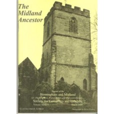 The Midland Ancestor - Back Issues - 2009 (Download)