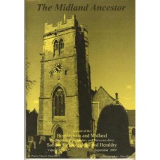 BMSGH - The Midland Ancestor Volume 16 No.07 Sept. 2009