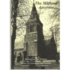 BMSGH - The Midland Ancestor Volume 16 No.09 March 2010