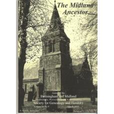 BMSGH - The Midland Ancestor Volume 16 No.09 March 2010