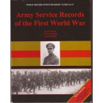 Army Service Records of the First World War - Used