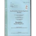 Bradley Parish Registers - Used