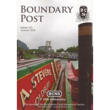 Boundary Post. Edition 221. Summer 2018 - Used