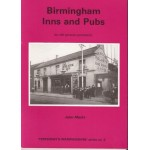 Birmingham Inns and Pubs on Old Picture Postcards - Used